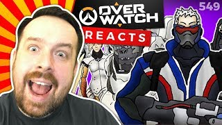 Reaction: ♪ OVERWATCH THE MUSICAL - Animated Parody Song