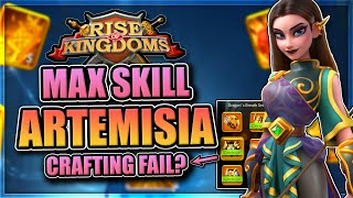 Legendary Set Crafting + Expertised Artemisia in Rise of Kingdoms [Why to max her in 2021...]