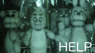 FNAF ANIMATRONICS ARE WATCHING YOU !  -FNAF Action Figures by Funko