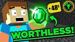 Game Theory: What is a Minecraft Emerald WORTH?