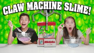 CLAW MACHINE SLIME CHALLENGE - SWITCH UP!!! The Claw Chooses Our Slime Ingredients!