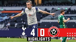 Tottenham Hotspur 4-0 Sheffield Utd | Premier League highlights | Gareth Bale Hat Trick downs Blades